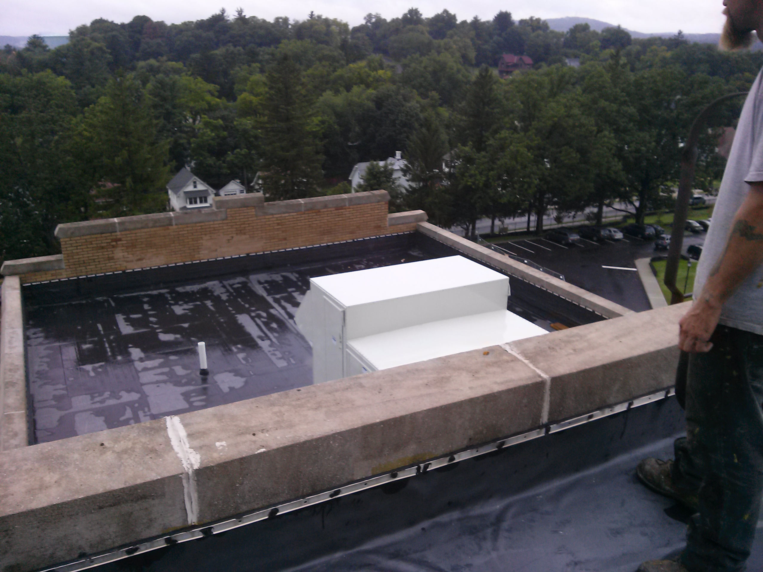 Mount Saint Mary Flat Roof Refurbish